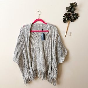 NWT Silver Jeans Gray Cardigan Size Small